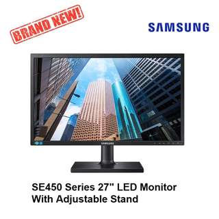 "Samsung S27E450B 27"" LED Professional Monitor with adjustable stand 3 Years Local Warranty"