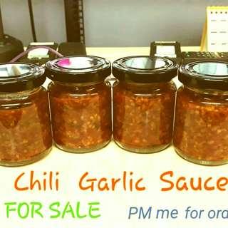 chilli garlic oil..