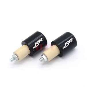 BMW S1000RR RR Laser engraved balancers hand grip bar ends handlebar bars left right