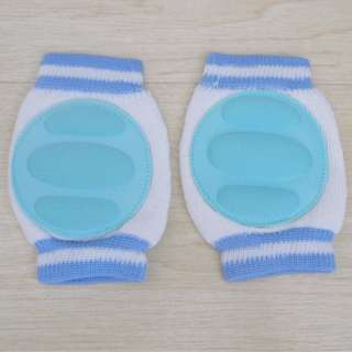 Children Soft Anti-slip Elbow Cushion Crawling Knee Pad Light Blue (FREE POSTAGE)