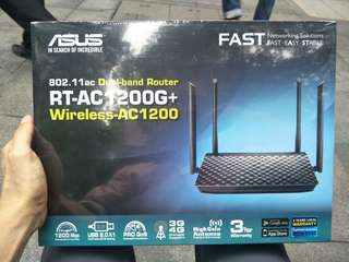 Asus Router (New) AC 1200G+