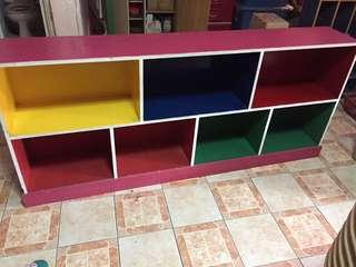 Pre school  books shelf