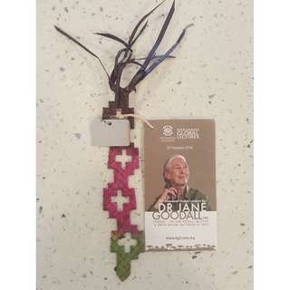 Bookmark from Khazanah Global Lectures with Dr.Jane Goodall