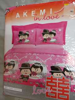 Akemi Wedding Bedsheet Set
