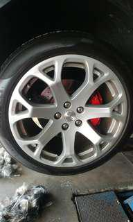 Maserati GT Rims and Tyres