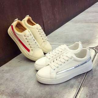 Korean White Sneaker