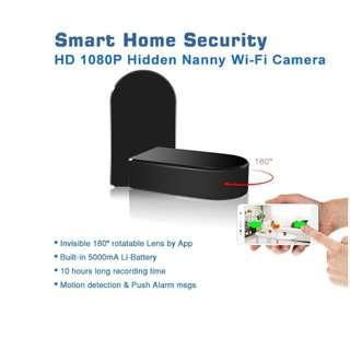 Spy Camera Wifi Box With Rotating Len
