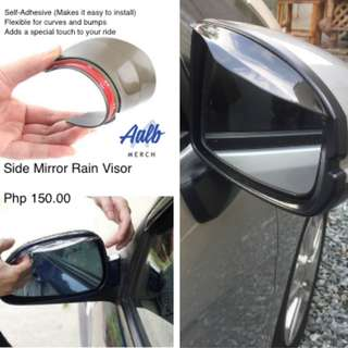 Side Mirror Rain Board Visor Shade Shield Water Guard Car