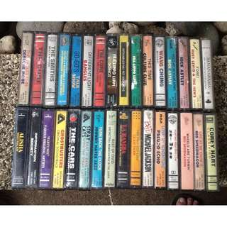 Cassette Tapes (see list)