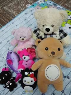 Preloved Teddy Bears & Stuffed toys