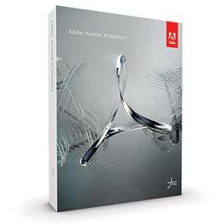 🚚 Adobe Acrobat XI Standard