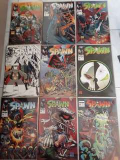 Spawn comics # 6 to 32 and 71. Except #9