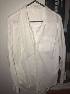 White business shirt (will fit a 10-12)