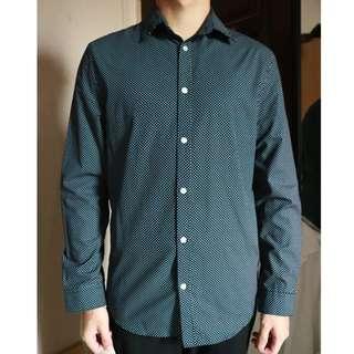 H&M Dark Blue Shirt