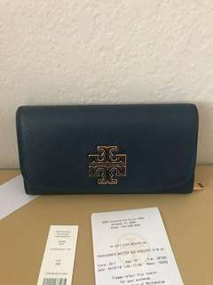 Authentic Tory Burch Wallet envelope