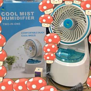 cool mist humidifier & fan