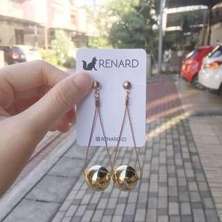 Chibei Earring / anting cantik / anting manis / anting keren / anting gaul / anting model / anting korea / anting import / anting fashion / anting pesta / anting lucu / anting imut