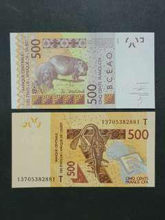 West African CPA 500 Francs 🇬🇼 !!!