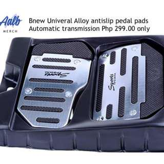 DIY Alloy Nonslip Safety Pedal Pad for AT Cars