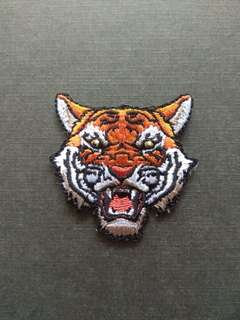 Tiger Wild Craft Iron On Patch