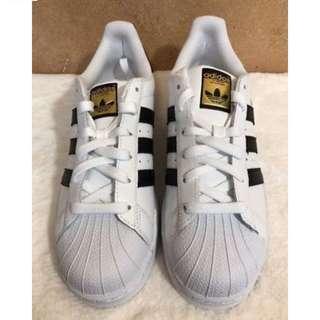 Authentic Adidas Originals Superstar Classic White and Black