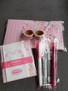Canmake stationery set