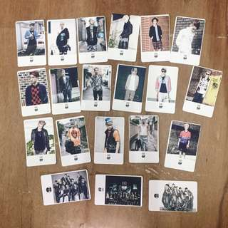 [CLEARANCE] EXO FANMADE POLAROIDS