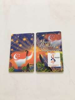 SMRT Card - Happy Birthday Singapore 36