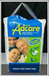 Adcare Adult Diapers Leak Guard (Unisex)