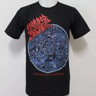 🚚 T-Shirt - Morbid Angel ( Altars of Madness 10 Years Madness)