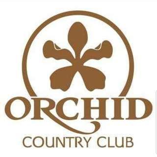 Orchid Country Club Social Membership