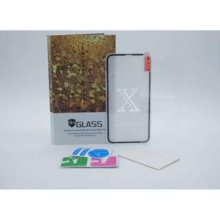 iphoneX 全屏磨沙保護貼套裝