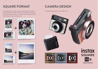 Fujifilm instax SQUARE SQ6 Instant Film Camera
