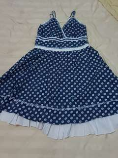 Dress / Daster Navy Froral
