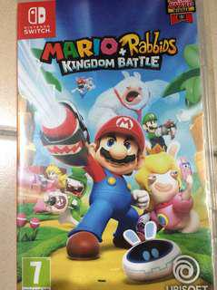 Nintendo Switch Mario Rabbids (EUR version)