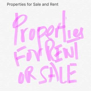 Properties for Subsale and Rent