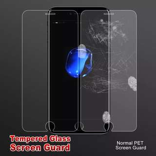 Tempered glass iPhone cover x2