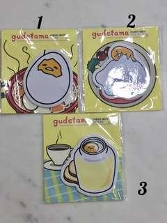 🚚 Gudetama design restickable paper pad