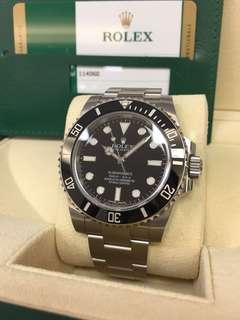 劳力士Rolex Submariner 114060LN