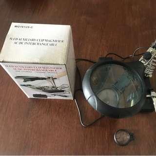 Wts 5 LED magnifier