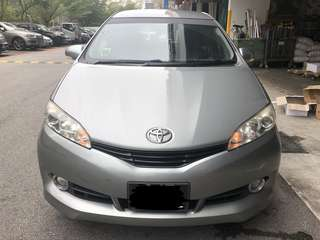 WEEKLY $430 FACELIFTED Toyota Wish 2.0A COMES WITH 3-8 DAYS FOC RENTAL!