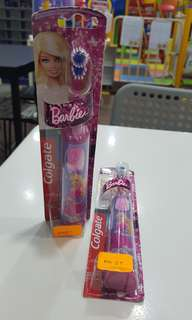Barbie powered toothbrush