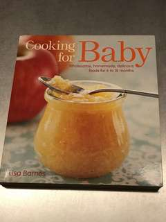 🚚 Cooking for baby book