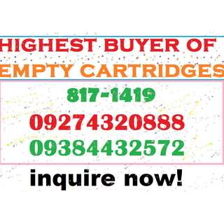 HIGHEST BUYER OF EMPTY INK CARTRIDGES