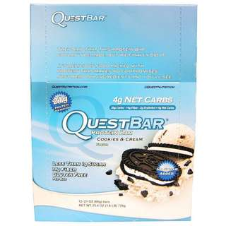 Quest Bar - cookies and cream