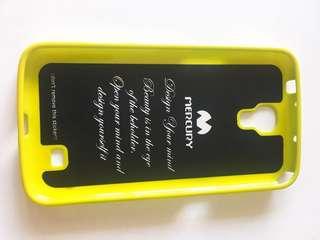 草綠色 Samsung GT-I9200 Galaxy Mega 6.3軟殼  8成新