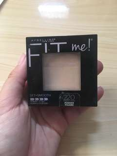 Maybelline Fit Me Powder (Set + Smooth)