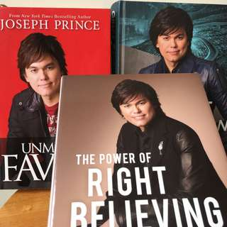 Joseph Prince NCC x 3 books