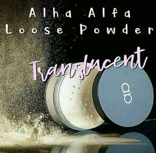 Alha Alfa Translucent Powder