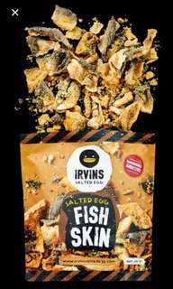 ⭐️Irvins新加坡鹹蛋魚皮 Salted egg fish skin⭐️